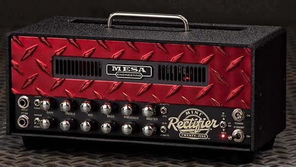 Mesa Boogie Mini Rectifier Custom Red Diamond Plate