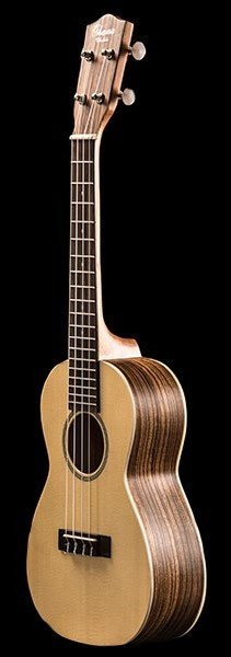 OHANA CK22Z SOLID SPRUCE TOP/ZEBRA WOOD