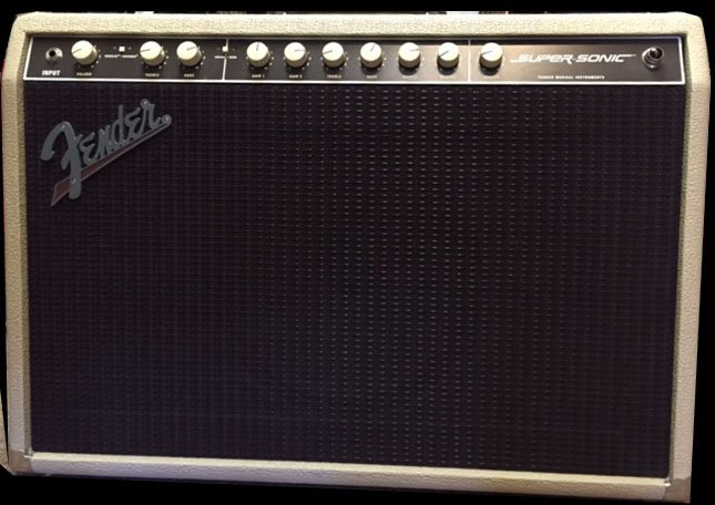 FENDER SUPER SONIC 60 USED