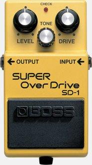 BOSS SUPER OVERDRIVE SD1