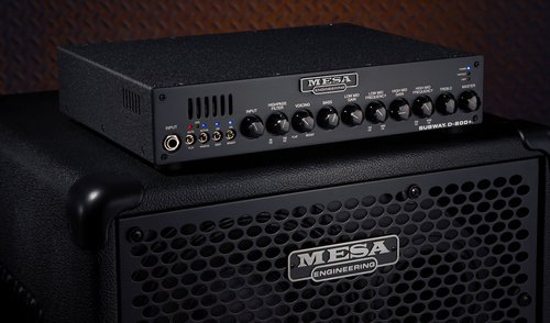 Mesa Boogie D800+ Bass Amp Head