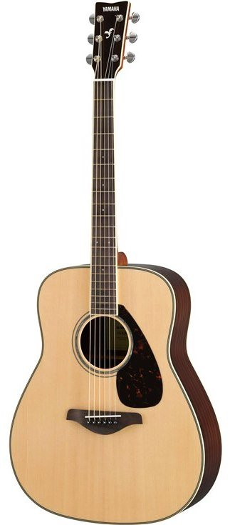 Yamaha FG830 Solid Top Folk Guitar