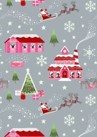 Christmas Glow North Pole Pink/Grey