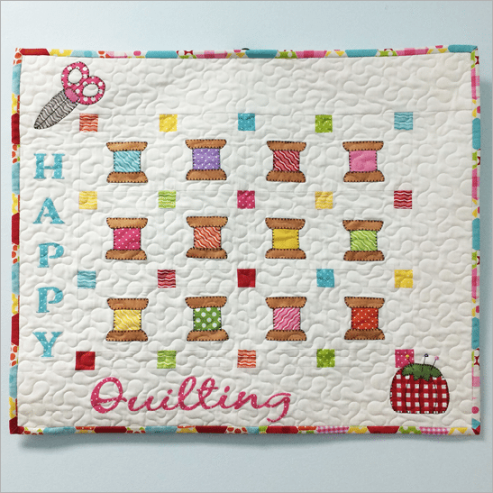 Happy Quilting Applique Pattern
