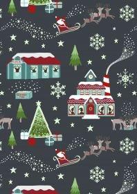 Christmas Glow North Pole Nighttime