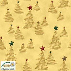 Christmas Wonders Beige / Gold