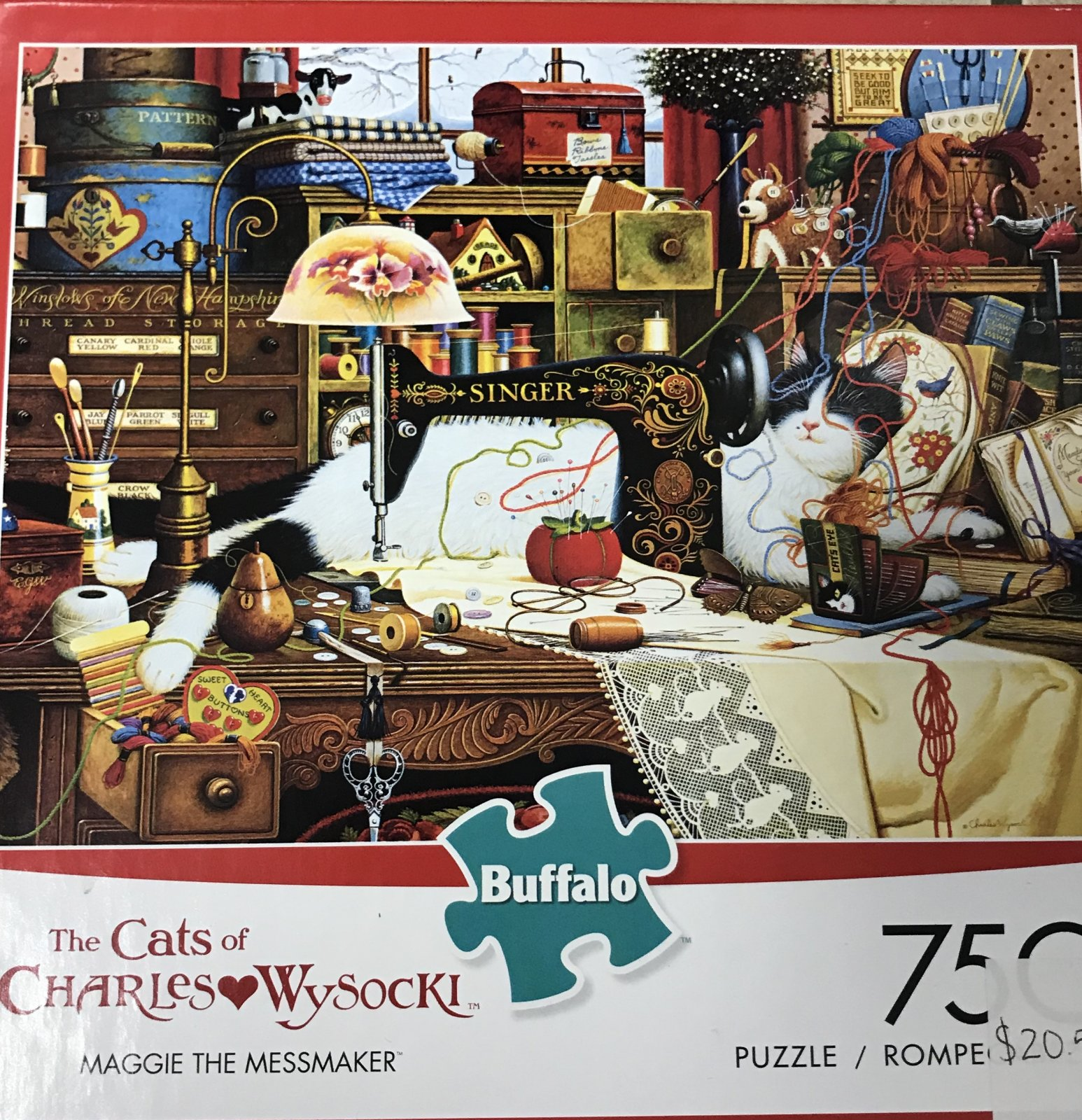 The Cats of Charles Puzzle