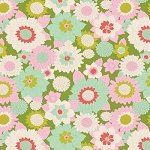 Tilda Boogie Flower Green