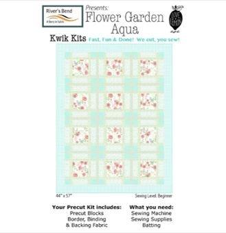 Not too Shabby Kwik Kit Flower Garden Aqua