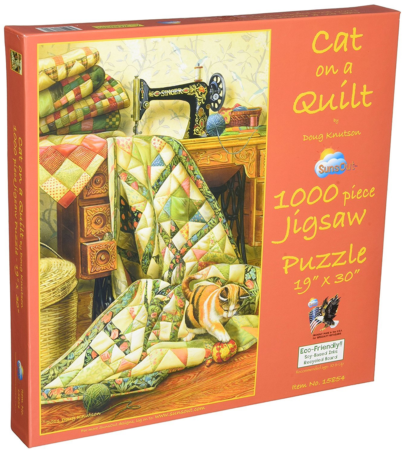 Cat on a Quilt Puzzle