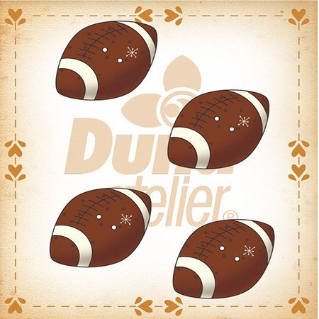 Duna Atlier Football Buttons