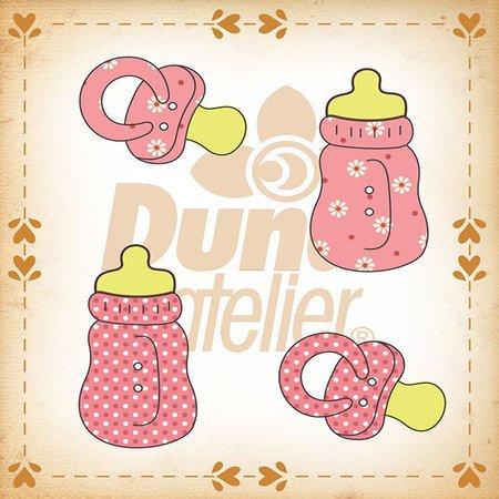 Duna Atlier Baby Girl Buttons