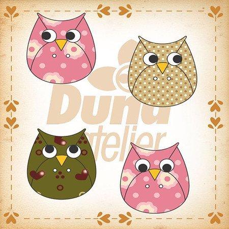 Duna Atlier Owl Buttons