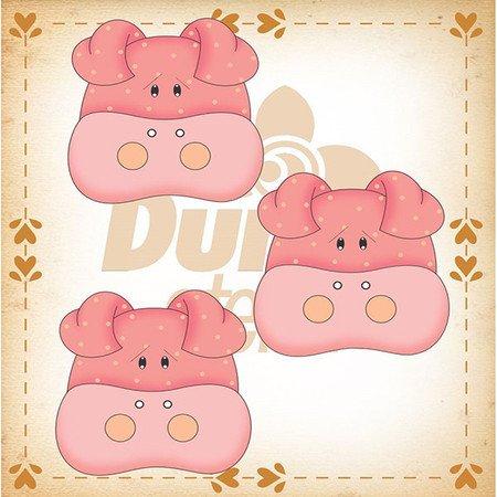 Duna Atlier Pig Buttons