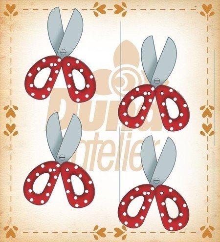 Duna Atlier Scissor Buttons