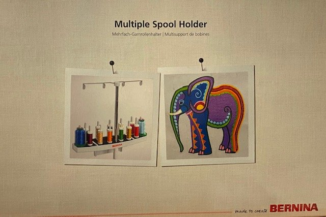 Multiple Spool Holder
