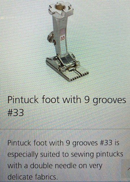 #30 Pintuck