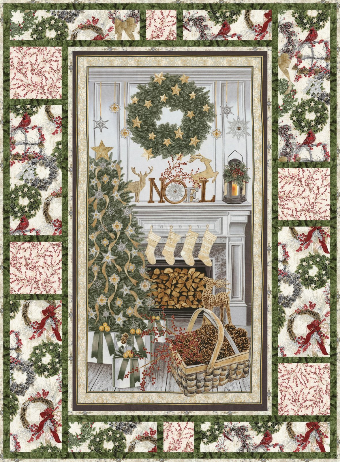 3-Message Board - White Christmas - Pattern