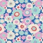 Tilda Boogie Flower Blue