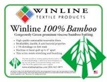 Winline 100% Bamboo Batting 96 x 30yds - Roll