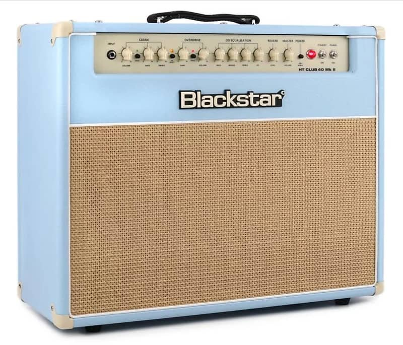 Blackstar HT Club 40 Mark II Black & Blue Guitar Combo Amplifier