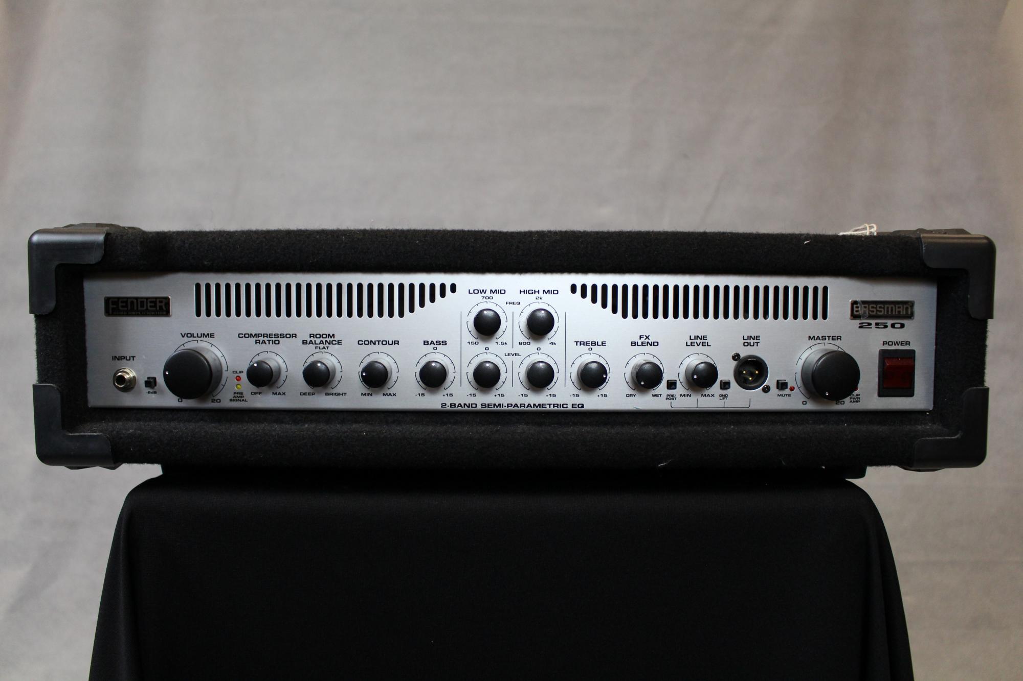 Fender Bassman 250 Bass Head Amplifier