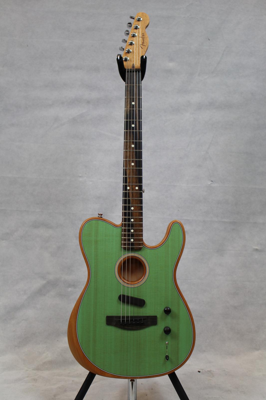 Fender American Acoustasonic Telecaster Seafoam Green
