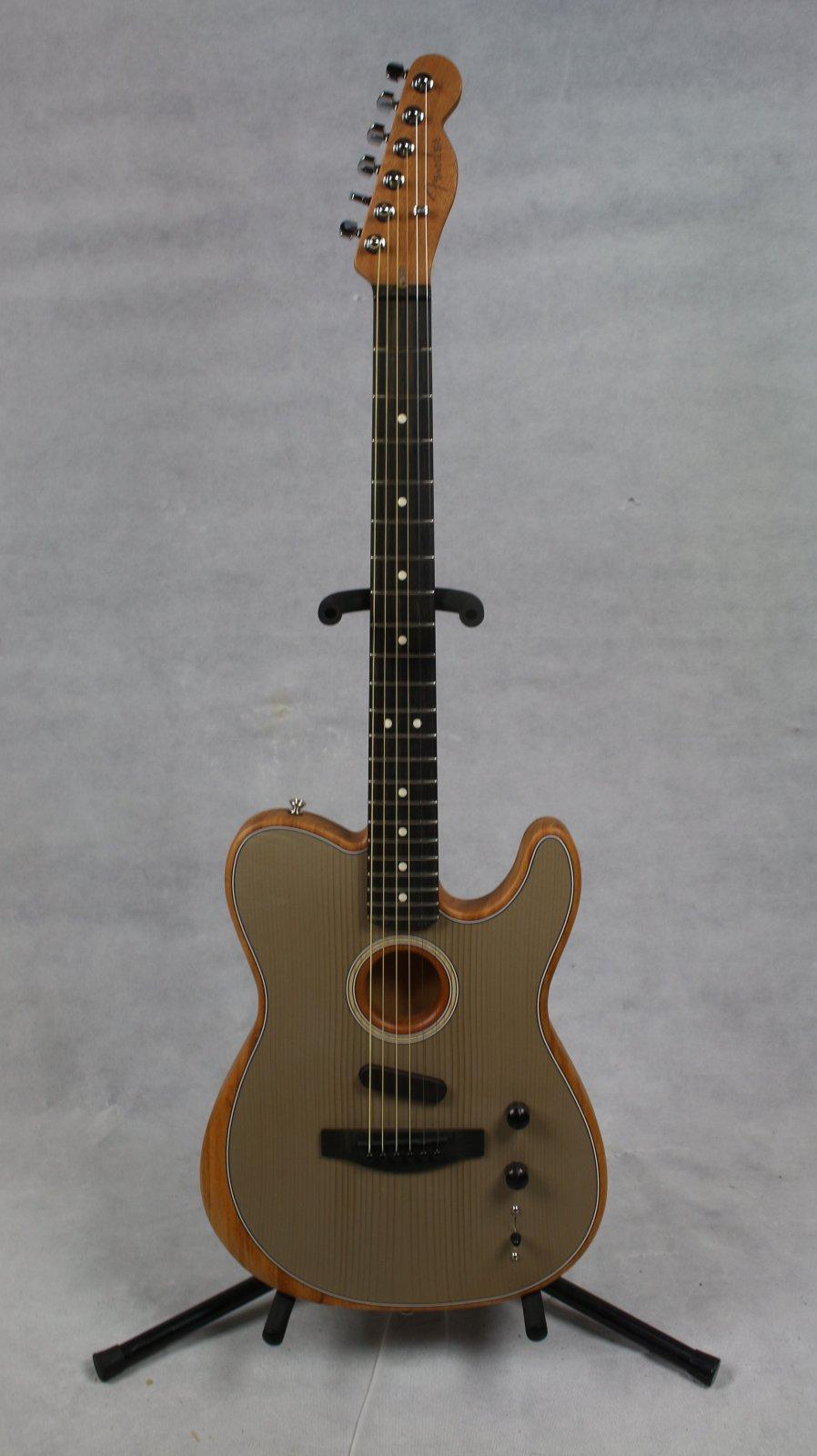 Fender American Acoustasonic Telecaster Ebony Fingerboard Sonic Gray