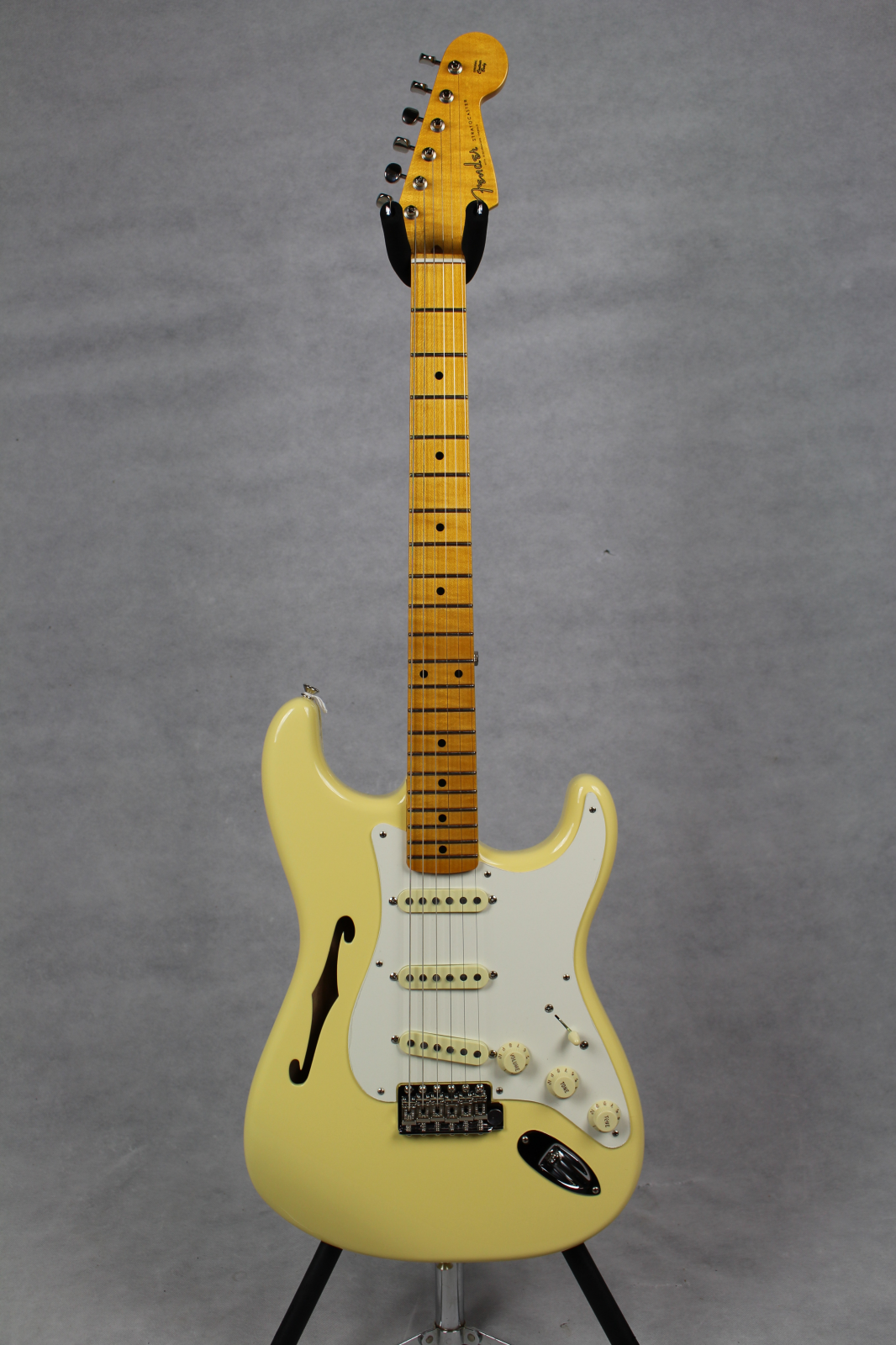 Fender Eric Johnson Signature Thinline Stratocaster MN Vintage White