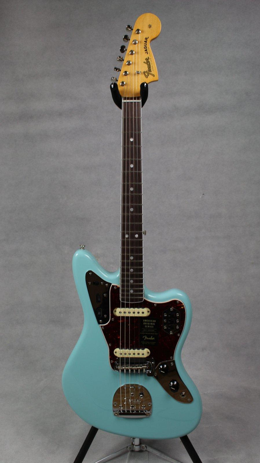 Fender American Original '60s Jaguar RW Daphne Blue