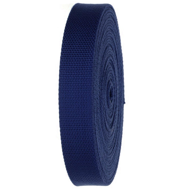 1 1/4in Cotton Belting Navy - Build A Belt