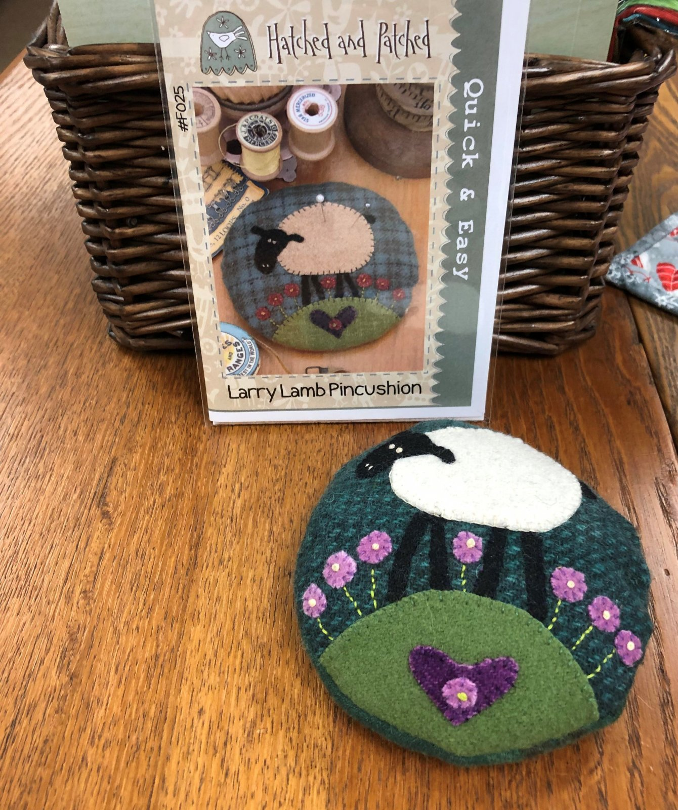 Larry Lamb Wool Pincushion Kit