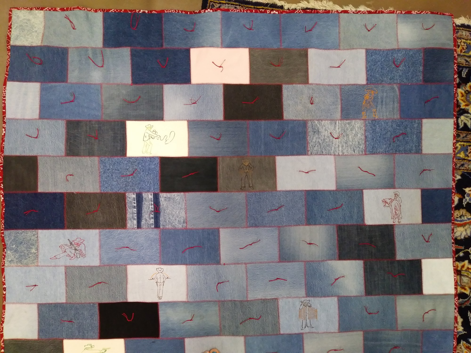 Raffle Quilt ticket 6 pack