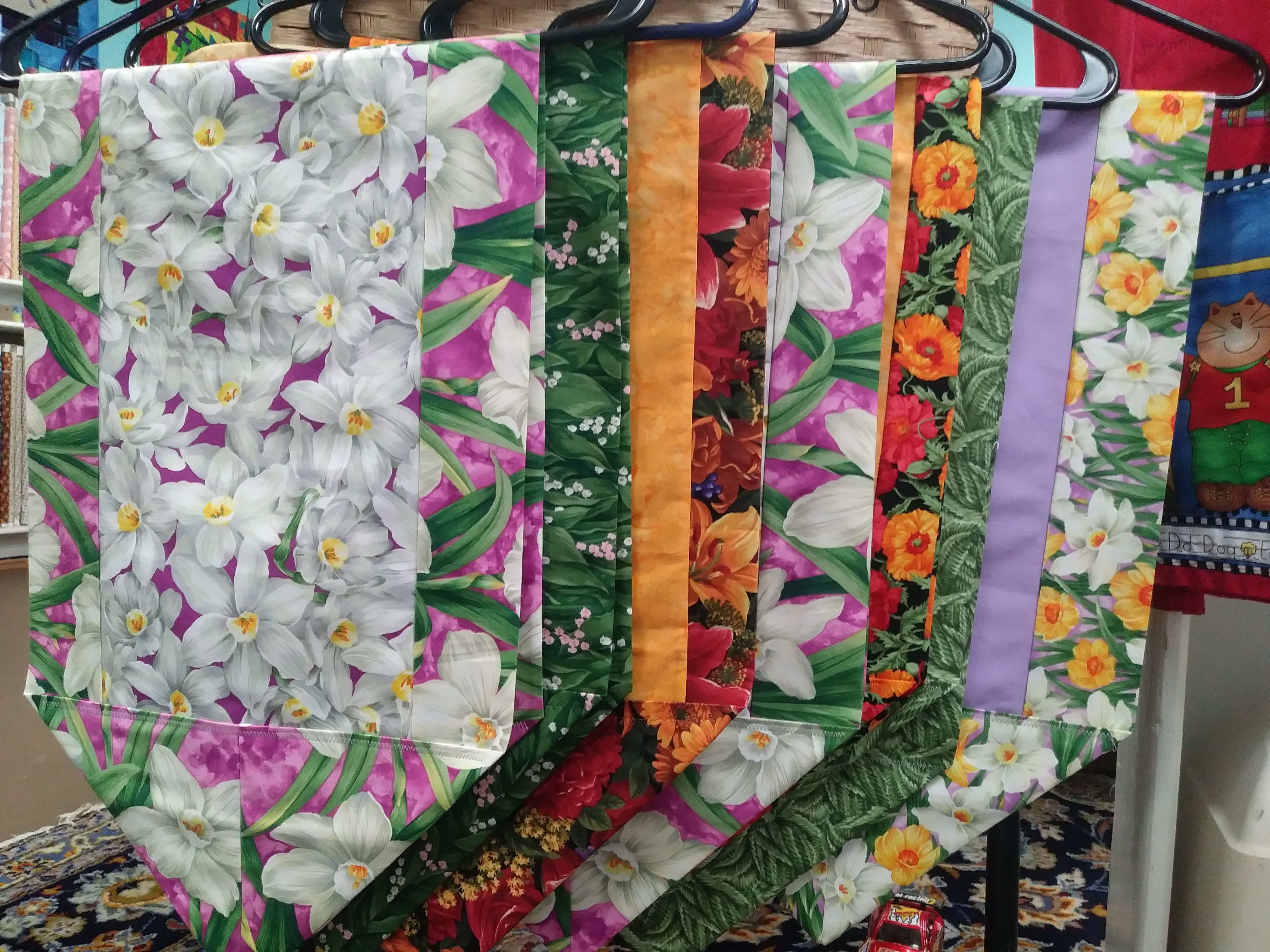 Table runners by Maureen