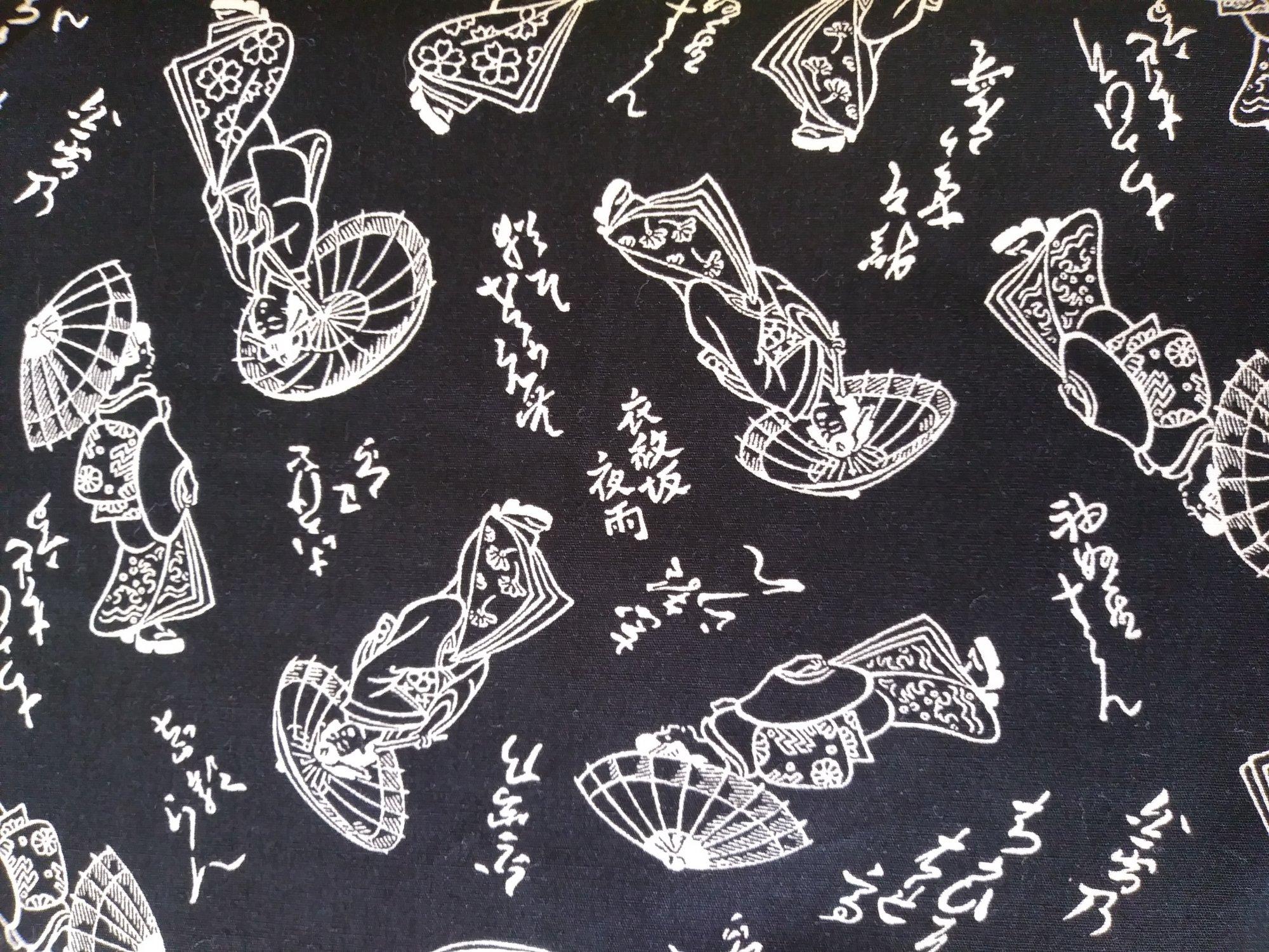 Kona Bay Fabrics Indigo Collection Black