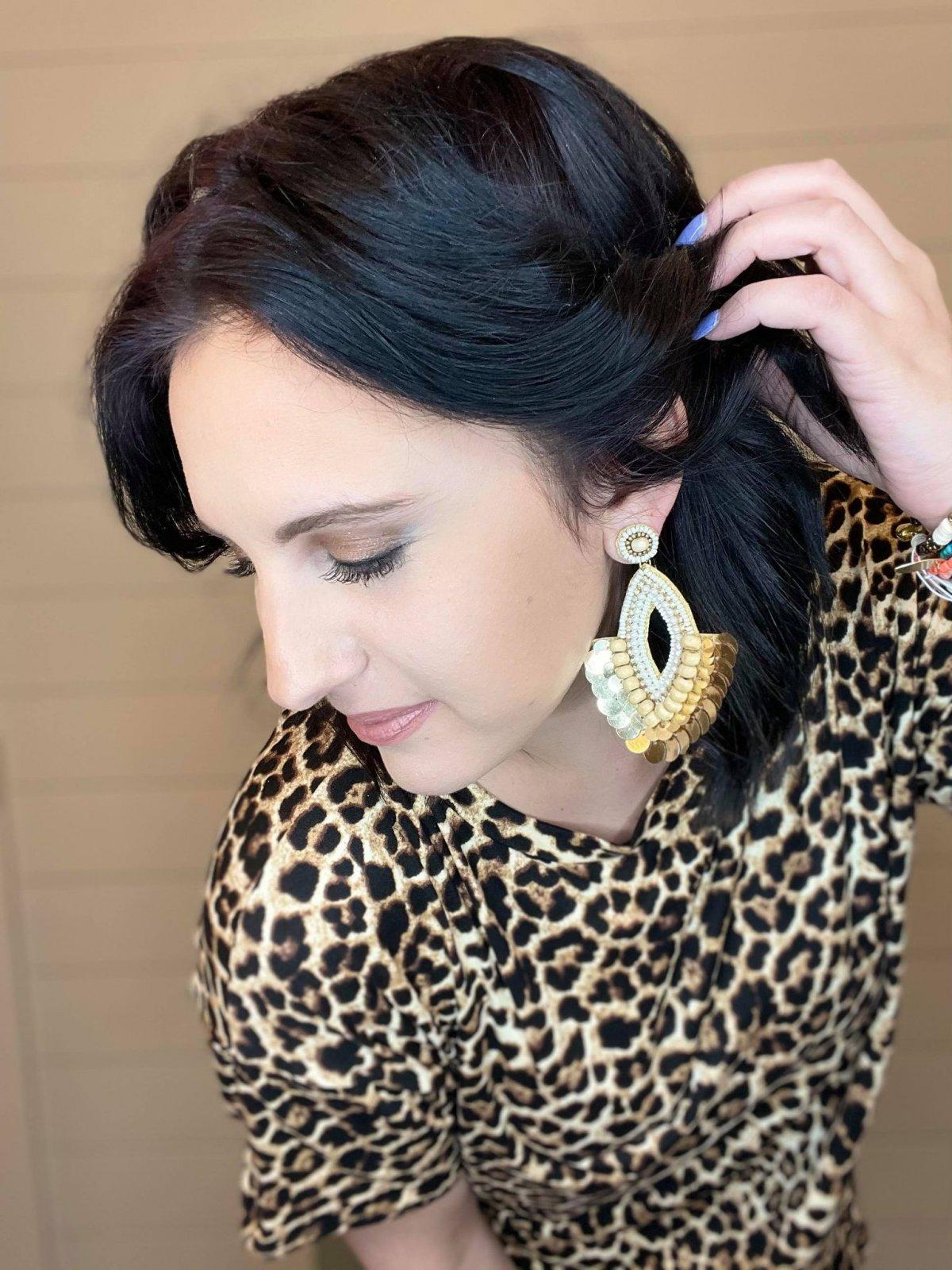 Beaded amazing earring