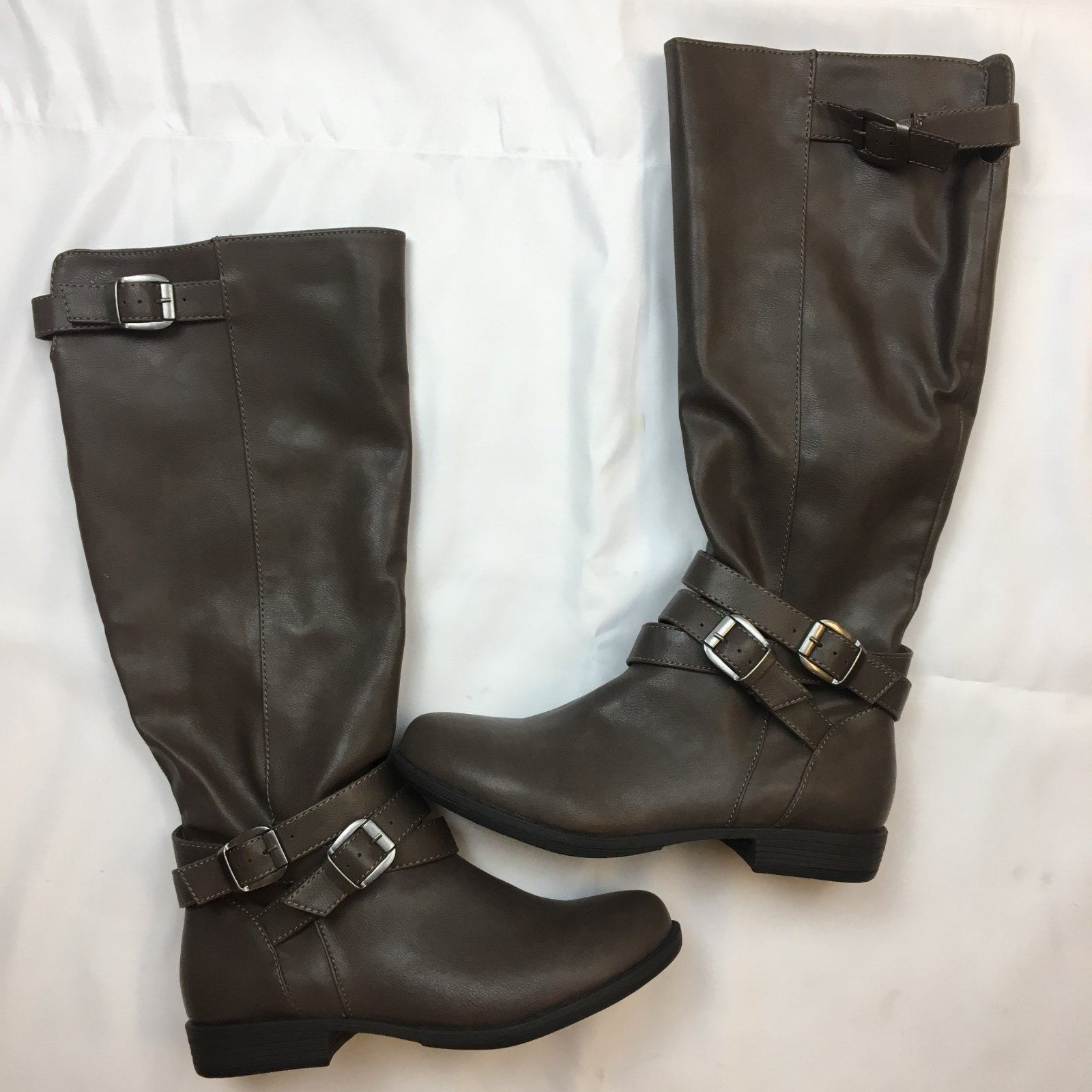 Wrap strap tall boot