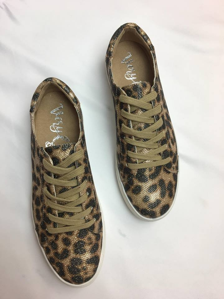 Jungle Mania Metallic Bling tennis shoe