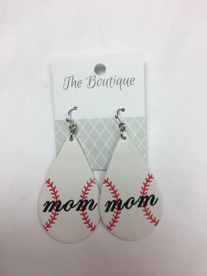 Baseball mom ears