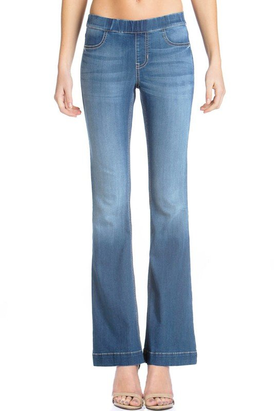 Mid Rise flare jegging