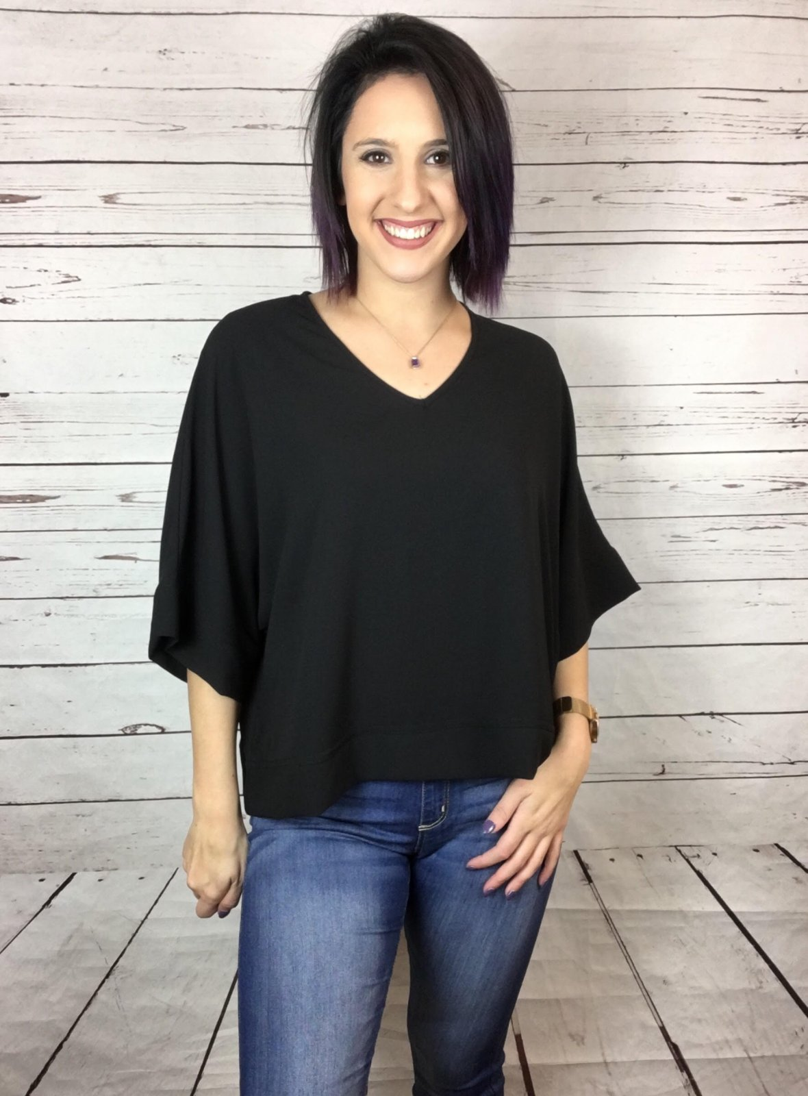 Drop Shldr slouch solid