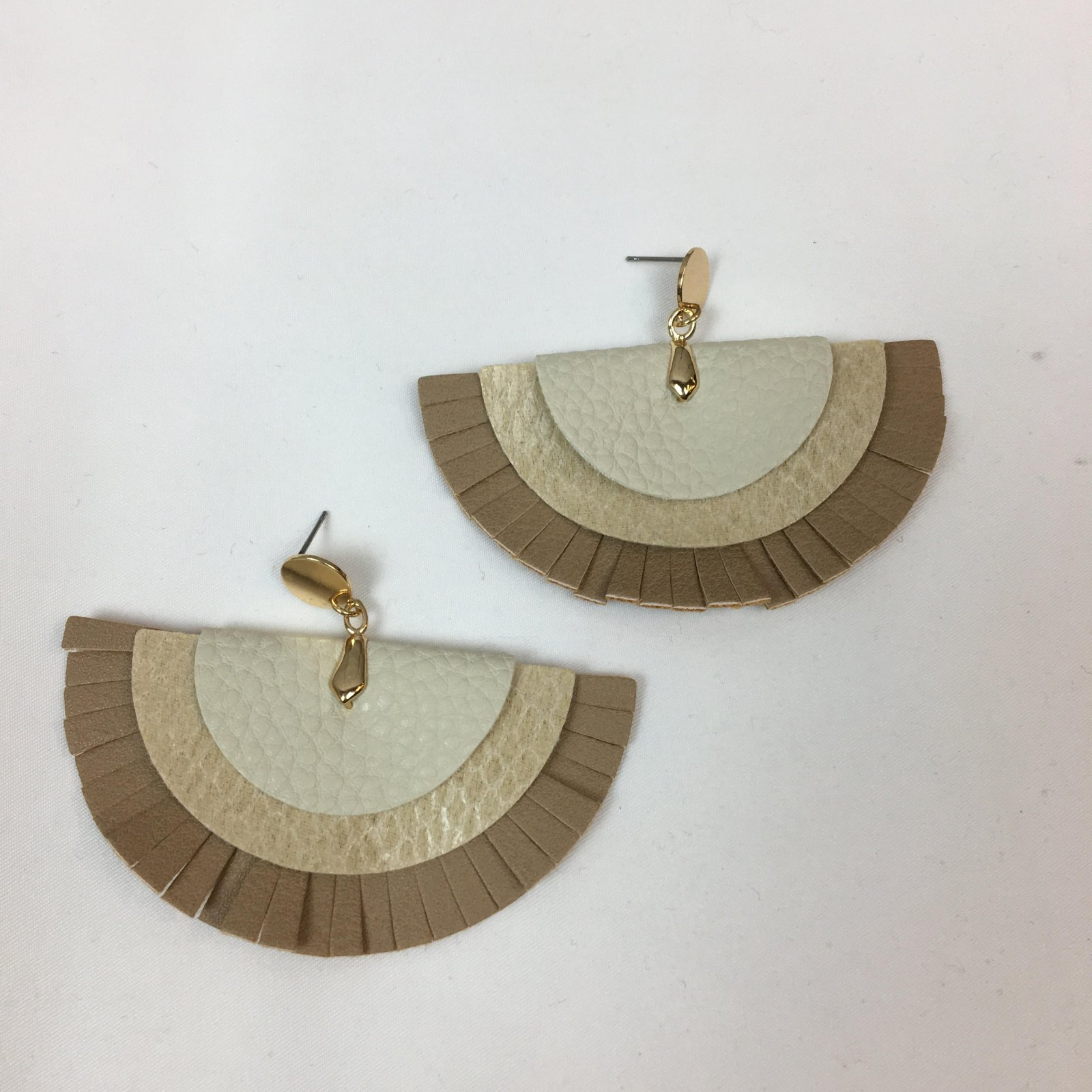 Multi layer leather ear