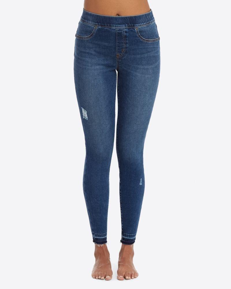 Spanx- Distressed Skinny jean