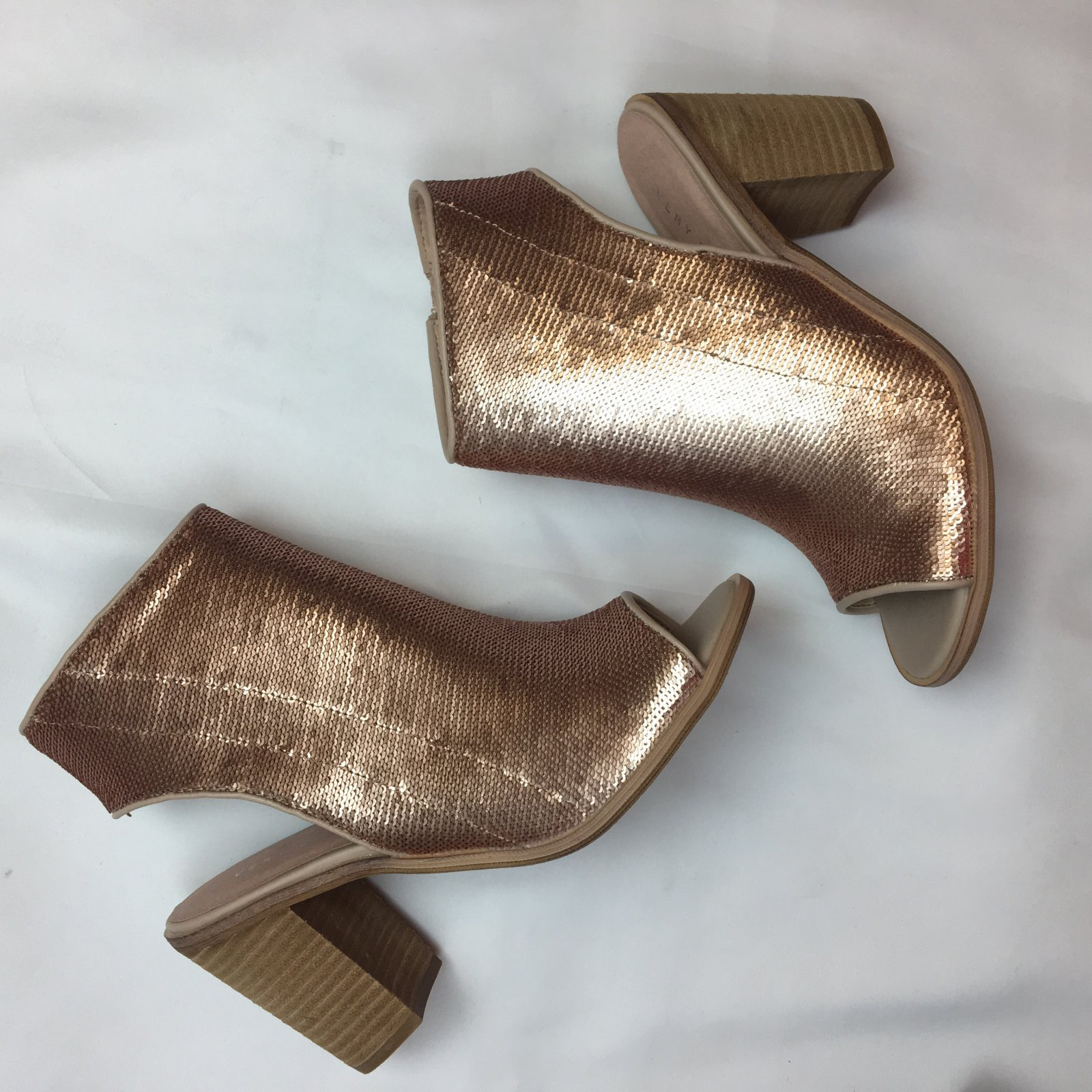 Mandi Sequin City Heel
