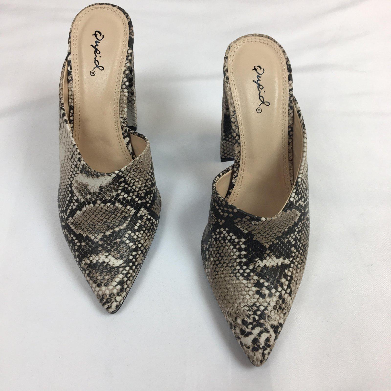 Snake Mule w/ heel