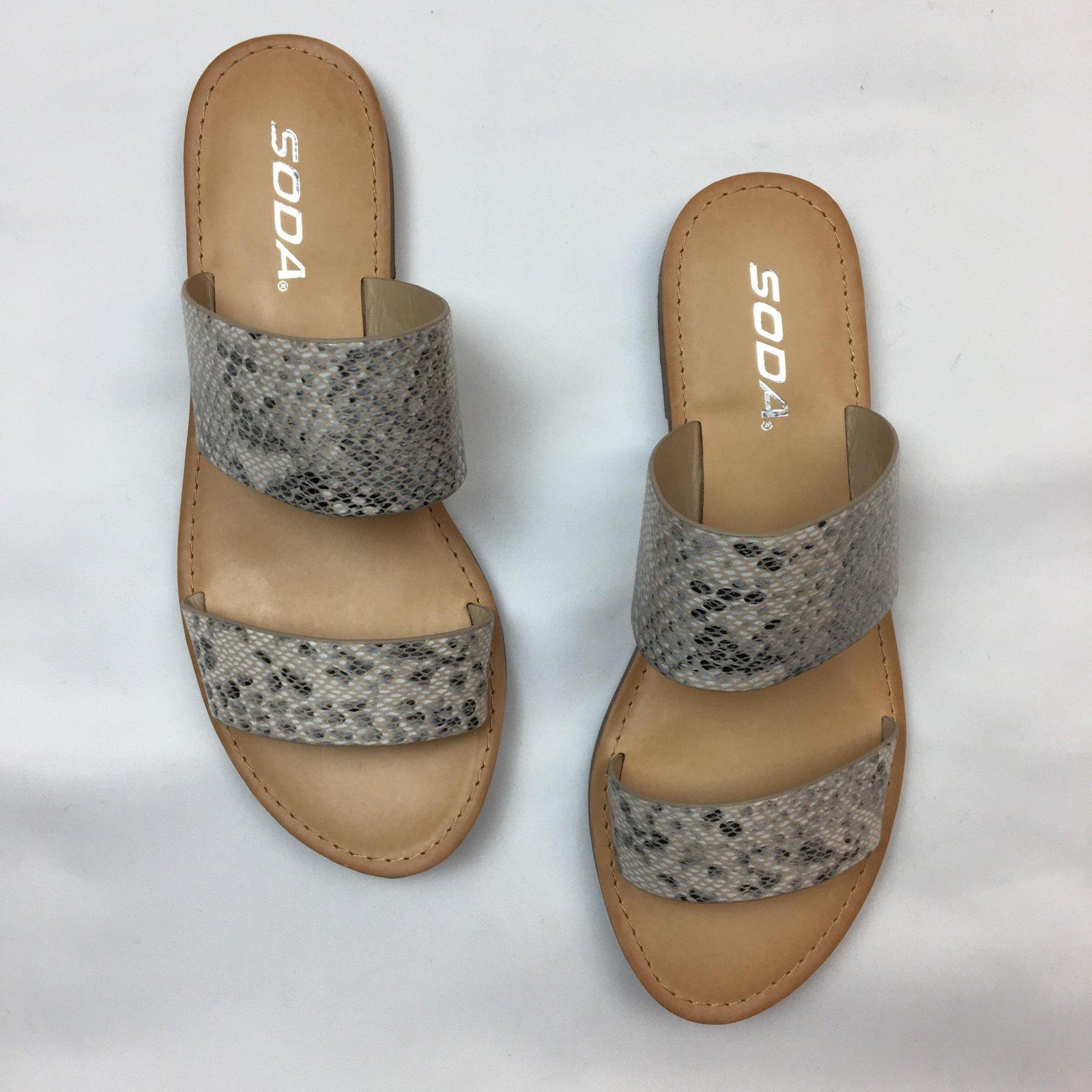 Dbl strap Sandal