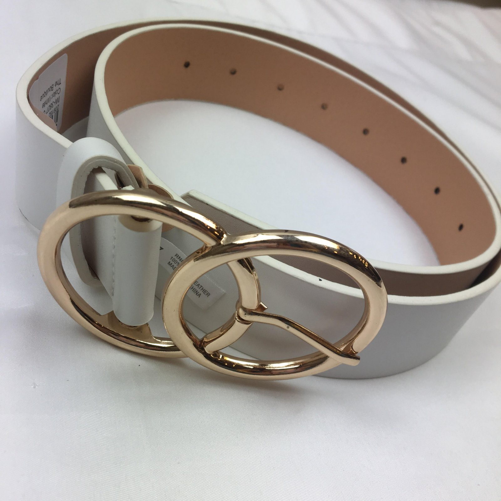Classic dbl bkl belt