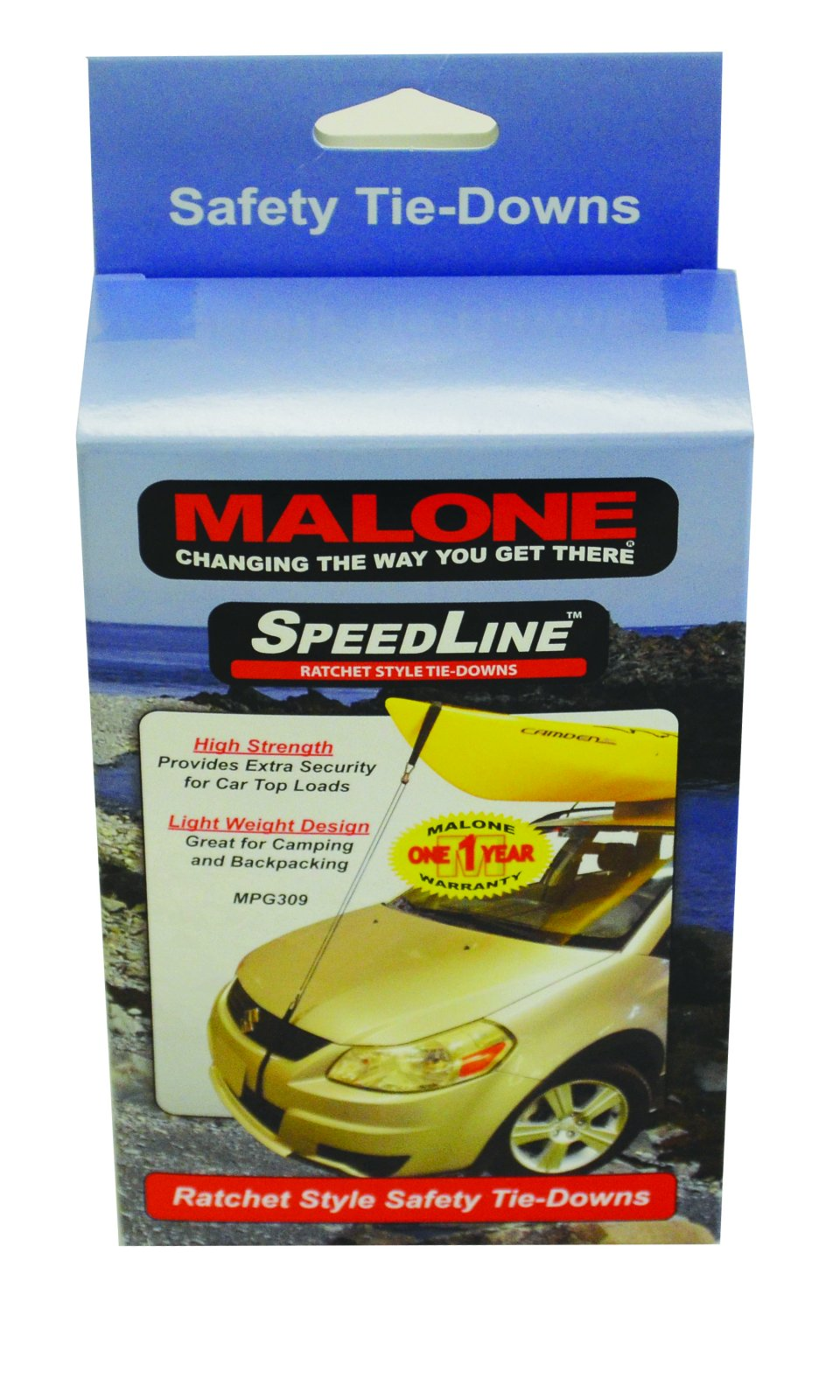 Malone SpeedLine Mini Ratchet Tie-Downs