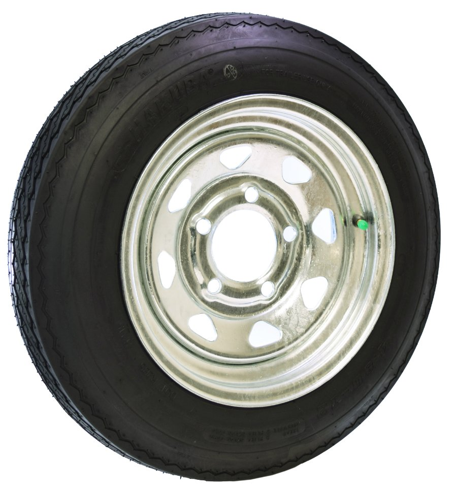 Malone 12 Galvanized Spare Tire w/ Locking Attachment