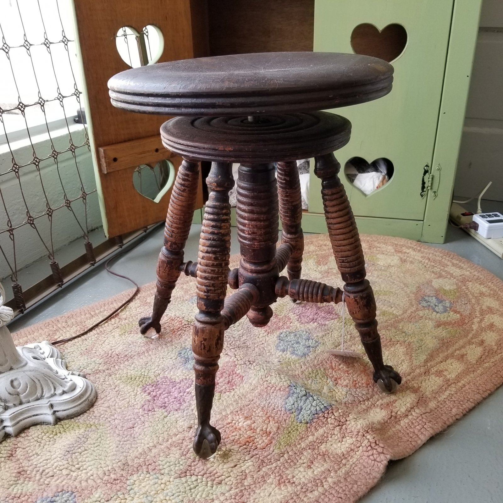 HD Bentley Piano Stool